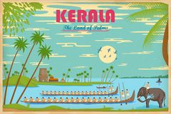 Culture of Kerala Stock Photography