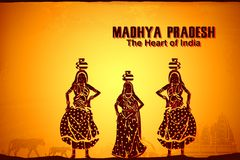 Culture of Madhya Pradesh Stock Image