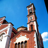 Culture old architecture in italy europe milan religion       a Royalty Free Stock Photos