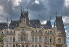 Culture Palace. In Iasi, Romania royalty free stock photography