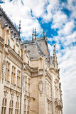 The Culture Palace in Iasi royalty free stock photo