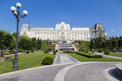 Culture Palace. The Culture Palace from Iasi, Romanai Royalty Free Stock Image