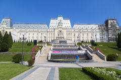 Culture Palace. The Culture Palace from Iasi, Romanai Stock Images