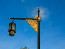 Culture street lamp royalty free stock photos