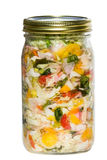Cultured or fermented vegetables Stock Images