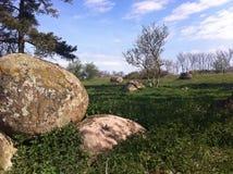 Cultureel erfgoed op ã-Land, Zweden stock fotografie