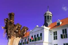 Cultureel erfgoed van Oud Djakarta Stock Foto
