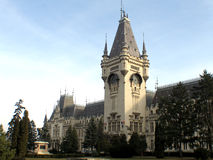 Cultureel paleis van Iasi Royalty-vrije Stock Foto's