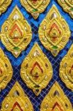 Cultureel patroon van Thailand Stock Foto's