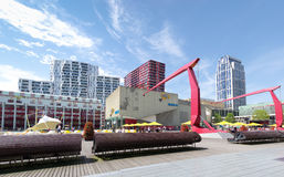 Cultureel vierkant in Rotterdam Royalty-vrije Stock Foto