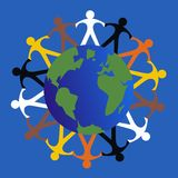 Culturel multi illustration libre de droits