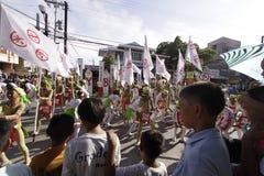 Culturele de Dansparade van het Buglasanfestival 2014 Royalty-vrije Stock Foto
