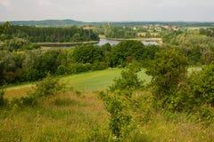 Culturele landcape Stock Fotografie