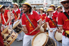 cultures de carnaval de Berlin Images libres de droits