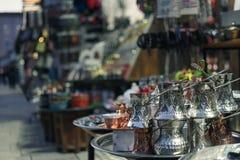 Cultuur en traditie in Sarajevo royalty-vrije stock foto's