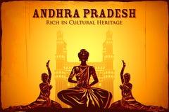 Cultuur van Andhra Pradesh stock illustratie