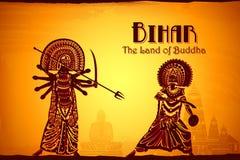 Cultuur van Bihar vector illustratie