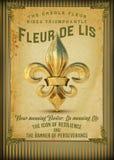 Cultuur van het Franse Kwart Louisiane van New Orleans stock illustratie