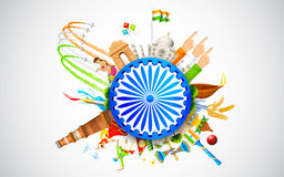 Cultuur van India royalty-vrije illustratie