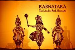 Cultuur van Karnataka stock illustratie