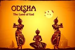 Cultuur van Odisha royalty-vrije illustratie