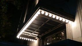 Culver市旅馆光 免版税图库摄影