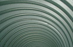Culvert Swirl. Inside a steel culvert stock photos