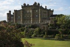 Culzean castle. A medieval castle with castle garden Stock Photography