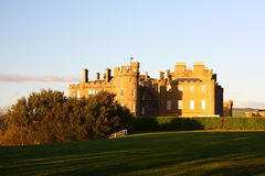 Culzean castle. The view of Culzean castle in Scotland, Europe Royalty Free Stock Photo