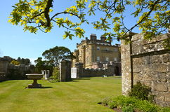 Culzean Castle, Ayrshire on a sunny day. Culzean Castle is a neoclassical mansion near Maybole in Ayrshire.  Once the family home of the Kennedys, it dates from Stock Images