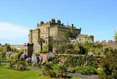 Culzean Schloss, Ayrshire-Rind an einem sonnigen Tag Lizenzfreie Stockbilder