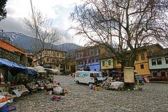 Cumalikizik村庄在伯萨,土耳其 免版税图库摄影