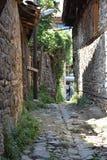 Cumalikizik-Dorf, Bursa, die Türkei Lizenzfreies Stockbild
