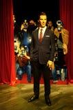 Cumberbath de Benedicto, la estatua inglesa de la cera del actor en los tussauds de la señora en Hong-Kong foto de archivo libre de regalías