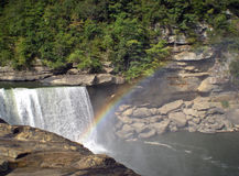 Cumberland Falls. Produces a rainbow Royalty Free Stock Photos