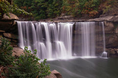 Cumberland Falls. Also known as the Niagara of the South Stock Photography