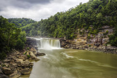 Cumberland Falls in Corbin, Kentucky Stock Photo