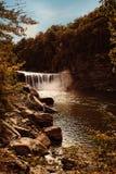 Cumberland Falls in Corbin, Ky. Autumn in Cumberland Falls in Corbin, Ky Royalty Free Stock Photo