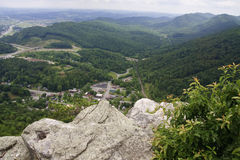 Cumberland Gap. View - National Historic Park Stock Photo