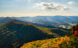 Cumberland Gap National Historical Park. Autumn Overlook Stock Photography