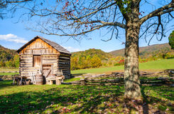 Cumberland Gap parkerar nationellt historiskt royaltyfria foton