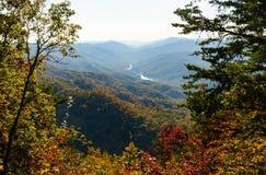 Cumberland Gap parkerar nationellt historiskt Royaltyfria Bilder