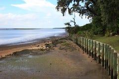 Cumberland-Insel-Abfahrt Stockbild