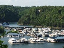 Cumberland jezioro Fotografia Stock