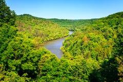 Cumberland River Arkivfoto