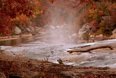 Cumberland River in Autumn Royalty Free Stock Photo