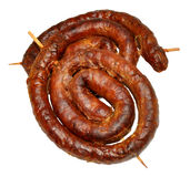 Cumberland Sausages Stock Photo