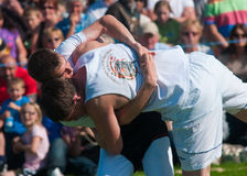 Cumberland and Westmorland wrestling Royalty Free Stock Image