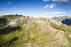 Cumbre alpestre Imagen de archivo libre de regalías