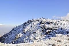 Cumbre de Carrauntoohil; El pico más alto de Irlanda Foto de archivo